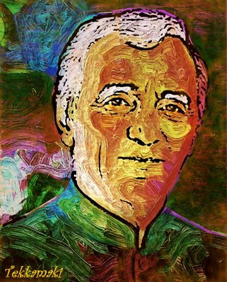 Charles Aznavour par Tekkamaki